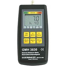 Odporový merací prístroj vlhkosti materiálu a teploty Greisinger GMH 3830